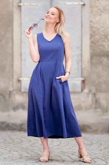 Midi-Kleid ARABELLA aus 100% Pima Bio Baumwolle