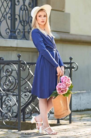Cardigan Kleid LAMEC aus 100% Pima Bio Baumwolle