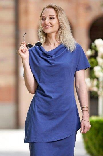 Tunika Shirt RUTH aus 100% Bio Baumwolle