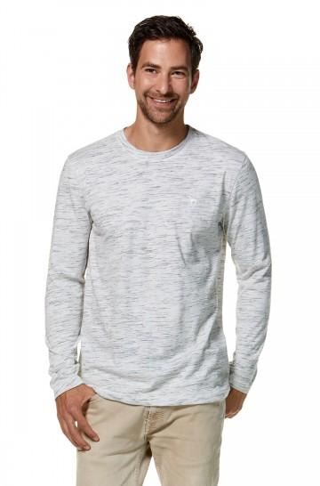 Longsleeve Shirt MATEO aus 90% Bio Pima Baumwolle & 10% Royal-Alpaka