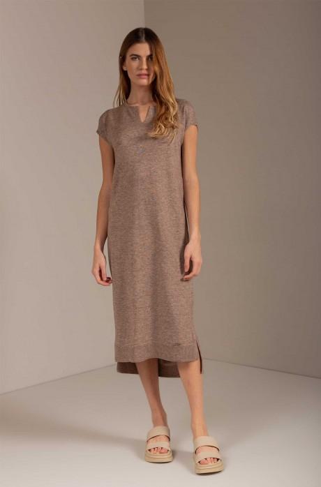 Alpaka Kleid URESTI aus Baby Alpaka und Bio Baumwolle
