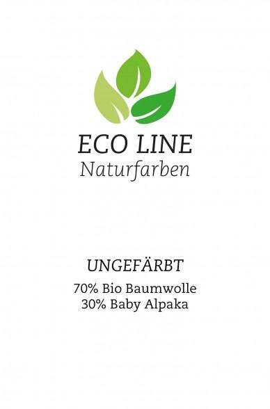 Alpaka Pullover UK aus Baby Alpaka und Bio Baumwolle