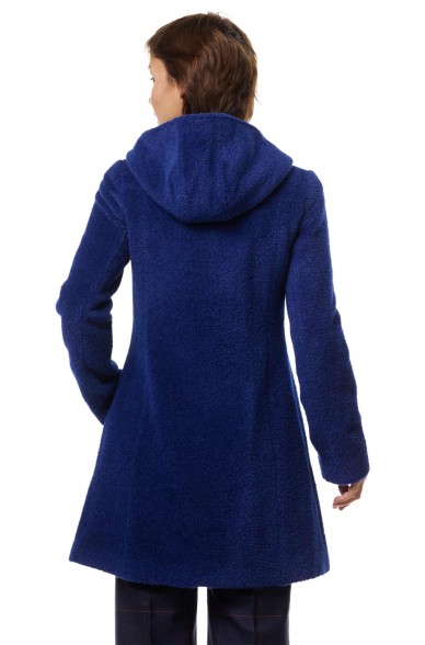 Alpaka Mantel FLURINA aus Alpaka und Wolle