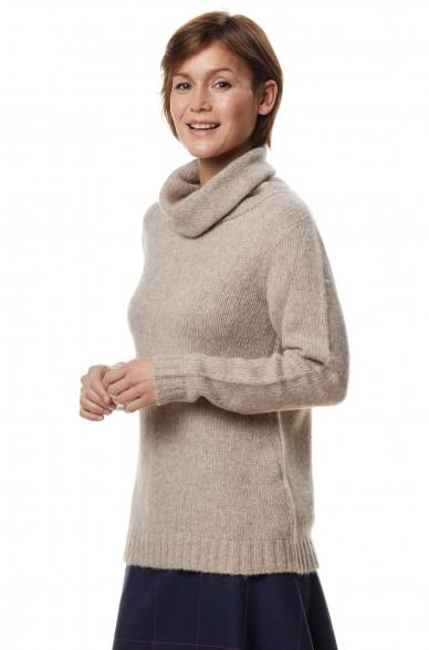 Alpaka Rollkragen Pullover ASA aus Alpaka Woll-Mix