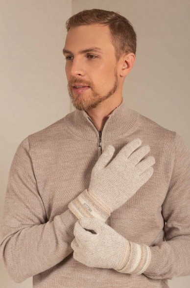 Handschuhe SOLFA aus Baby Alpaka