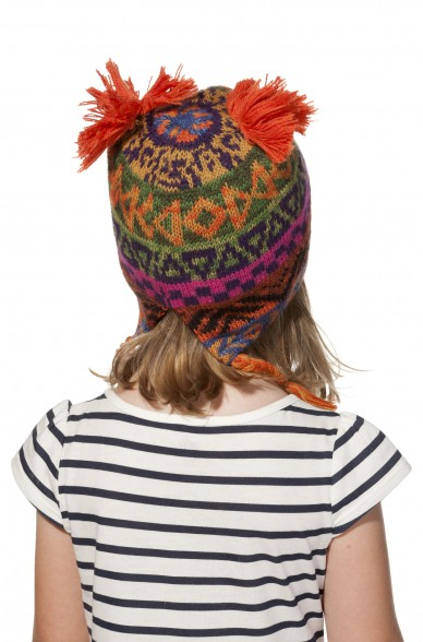 Alpaka Mütze AQUARELL (Kinder 6-12 Monate) aus 100% Baby Alpaka_11543