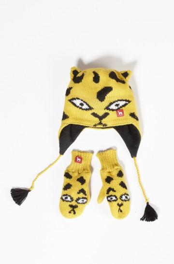 Baby Handschuhe TIGER 9-11 Monate gefüttert Alpaka_12859