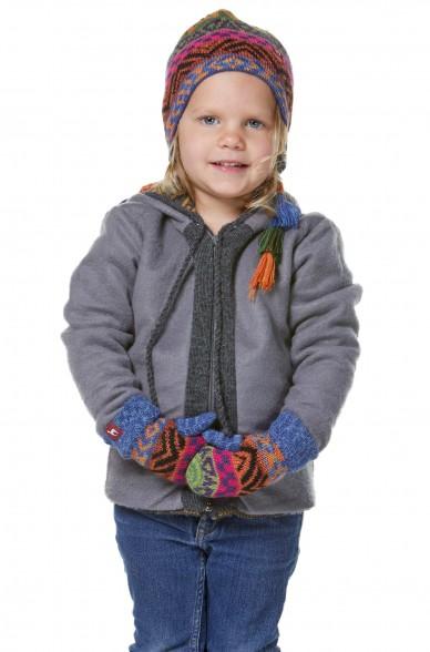 Alpaka Fausthandschuhe AQUARELLl ( ab 1 Jahr) aus 100% Baby Alpaka_32623