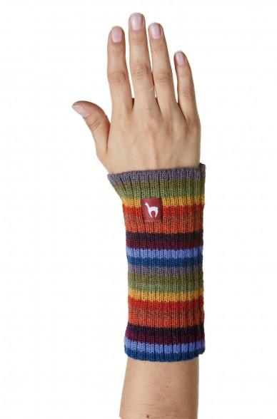 Damen Pulswärmer ARCO IRIS Armwärmer aus Alpaka gestrickt_32822