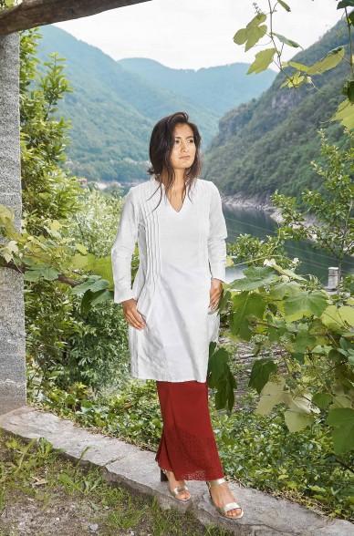 Kleid FABIANA aus 100% Bio Pima Baumwolle_33069