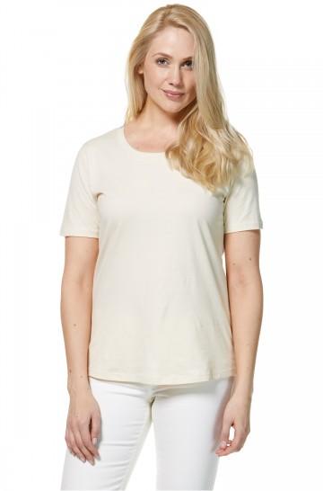 T-Shirt KURZARM aus Bio Pima-Baumwolle für Damen_33349