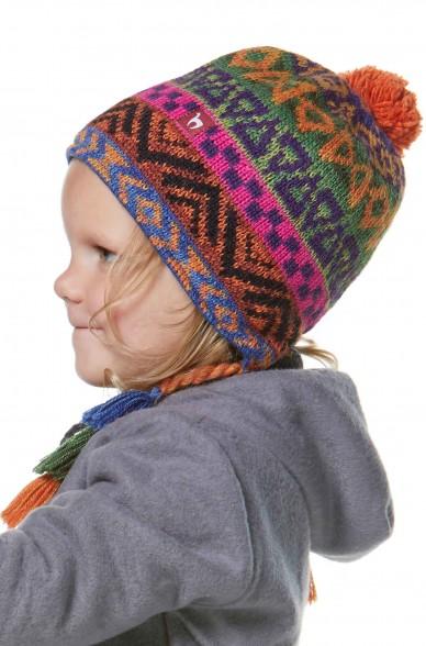 Alpaka Mütze AQUARELL (Kinder 5-9 Jahre) aus 100% Baby Alpaka_37113
