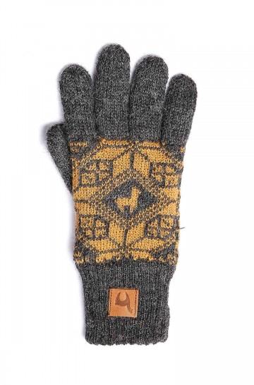 Alpaka Fingerhandschuhe ANDEN ROCA aus 100% Alpaka Superfine_37114