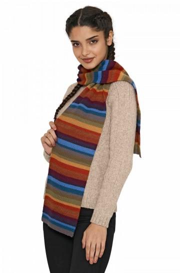 Alpaka Schal ARCO IRIS aus 100% Baby Alpaka_40748