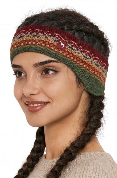 Stirnband LUNA Baby Alpaka Jacquard Strick_40782