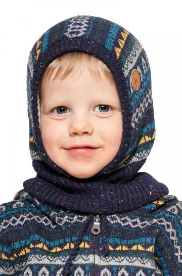 Alpaka Schlupfmütze MONITO (für Kinder) aus 30% Baby Alpaka & 70% Baumwolle_40910