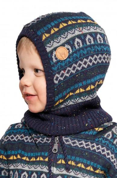 Alpaka Schlupfmütze MONITO (für Kinder) aus 30% Baby Alpaka & 70% Baumwolle_40912