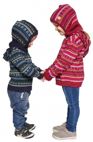 Alpaka Schlupfmütze MONITO (für Kinder) aus 30% Baby Alpaka & 70% Baumwolle_40915