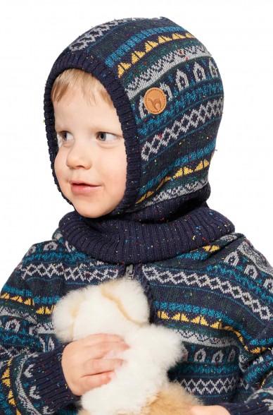 Alpaka Schlupfmütze MONITO (für Kinder) aus 30% Baby Alpaka & 70% Baumwolle_40916