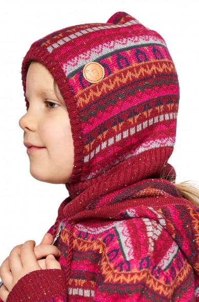 Alpaka Schlupfmütze MONITO (für Kinder) aus 30% Baby Alpaka & 70% Baumwolle_40917