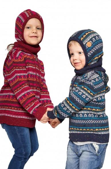 Alpaka Schlupfmütze MONITO (für Kinder) aus 30% Baby Alpaka & 70% Baumwolle_40918