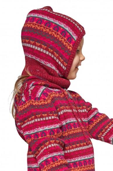 Alpaka Schlupfmütze MONITO (für Kinder) aus 30% Baby Alpaka & 70% Baumwolle_40919